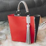 어깨끈 Sy7912를 가진 숙녀 이중 사용 핸드백을%s 최고 판매 합성 가죽 가방