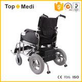 Fábrica Foldable de China da cadeira de rodas da energia eléctrica de equipamento médico para enfermos