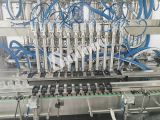 Máquina de rellenar automática y máquina que capsula para el lavado