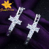 Stse-16113011 Fashion Cross Drill 925 Silver Value
