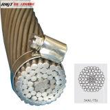 Проводник ACSR высокого напряжения BS/ASTM/DIN /IEC алюминиевый усиленное сталью