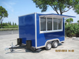 Reboque móvel ao ar livre profissional grande do alimento da rua do indicador de deslizamento (SHJ-MFS300)
