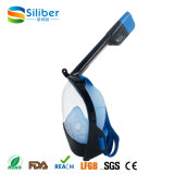 Factory Supply Round Fashion Design Máscara de Snorkel Full Face para mergulho