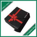 Caixa de transporte Foldable ondulada traseira lustrosa com impressão