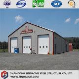 L'OIN chaude de vente a délivré un certificat la construction/entrepôt préfabriqués/jeté