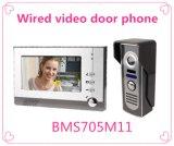 4 Hulpmiddelen van de Veiligheid van de Klok van de Deur van de Telefoon van de Deur van het Systeem van de Intercom van de draad de Video
