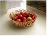 Cesta de fruta hecha a mano del sauce de la alta calidad (BC-ST1221)
