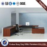 Vector de lujo de madera de la oficina del OEM del escritorio de oficina del aspecto moderno (HX-ND5003)