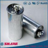 Capacitor Sh de alumínio do condicionador de ar do funcionamento do motor de C.A. do capacitor do escudo Cbb65 do cilindro