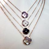 نساء مجوهرات نمو [14ك] نوع ذهب يصفّى ناحرة سلسلة زهرة عقد