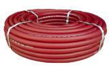 Tuyaux d'air renforcés par PVC mats rouges de couverture pour la machine d'industrie