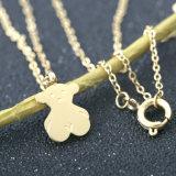 Neuer Form-Schmucksache-Mamma-Baby-Bären-Edelstahl-Halsketten-Anhänger