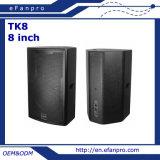 Clássico áudio 2-Way do sistema de 8 altofalantes do monitor do estágio da polegada para a mostra (TK8)