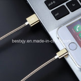 Mancha de acero 3,3 pies USB Charing y Datos Tansmission Cable para iPhone