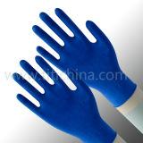 La polvere a gettare medica dei guanti del lattice o la polvere libera