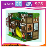 Campo de jogos macio do tema cor-de-rosa dos doces para os miúdos (QL-17-28)