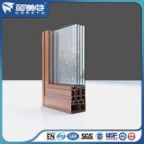 Профиль покрытия порошка OEM 6063-T5 алюминиевый для алюминиевого окна