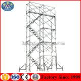 Galvanisierte USA Metal kletternden Baugerüst-Strichleiter-Rahmen
