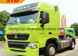 HOWO 경량 T5g 4*2 350HP 토우 트랙터 트럭