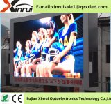 Im FreienP8 farbenreiche LED Bildschirm bekanntmachend