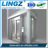 Elevadores al aire libre de la elevación para ver de la vista o el elevador del pasajero