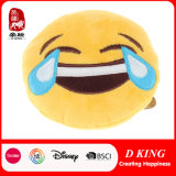 Bescheinigung En71 Plüsch angefülltes Emoji Kissen für Kinder
