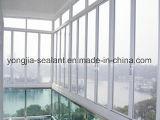 Côté en aluminium arrêté/guichet de tissu pour rideaux avec le bâti en aluminium