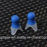 La sûreté réduisant la pression de fiches d'oreille de silicones d'avions protègent des boules quies