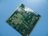Fabricación de múltiples capas del PWB con oro de la inmersión en la navegación de GPRS