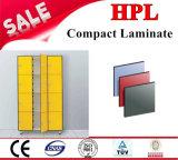 Los paneles de pared laminados de HPL /Compact para los cuartos de baño