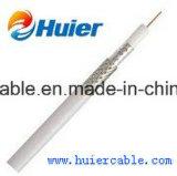 Do cabo barato do preço CATV de ETL cabo satélite RG6 (cobertura de 60%)