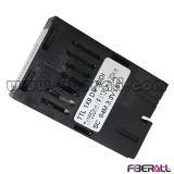 84Mbps Ttl 1X9 Transceptor de fibra óptica de fibra óptica simple Bi-Di 20 kilometros