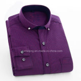 Camisa de la tela a rayas de los hombres