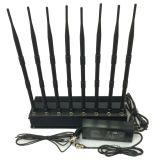 8 GPS/WiFi/VHF van de Hoge Macht van antennes de UHFStoorzender van de Telefoon van de Cel