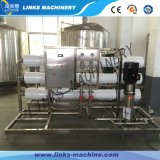 Agua automática que aclara la máquina que capsula de relleno