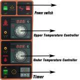 New Gas Four / Four à pizza à écran de contrôle numérique mécanique (3-pont, large pan-6) CE