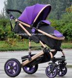 3 in 1 beweglicher Baby-Spaziergänger-Kinderwagen-verwanztem BabyPram