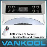 Ventilador movible conveniente del uso casero con la función que controla de la humedad