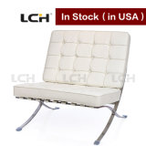 Lounge Furniture Sofa Barcelona Chair with Ottoman in Stock