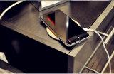 Almofada cobrando de Smartphone do carregador sem fio de bambu novo portátil magro