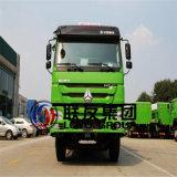 필리핀에 있는 10의 바퀴 최고 판매를 가진 6*4의 Sinotruk Zz3257m3447c1 HOWO 덤프 트럭 팁 주는 사람 트럭