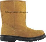 Ботинки безопасности работы пальца ноги качества Hight и дешевого цены стальные