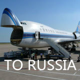 De Vracht van de lucht van Shanghai Shenzhen Peking China aan DEM Svo Moskou Rusland
