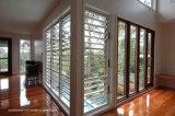 Diebstahl-Beweis-Sicherheits-lamelliertes Glas-Aluminiumluftschlitz-Fenster