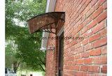 80X120cm im Freien ökonomisches DIY Polycarbonat-Tür-Kabinendach (YY800-B)