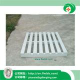 Paleta modificada para requisitos particulares del metal de la capa del polvo para las mercancías del almacenaje de Forkfit