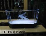 Seau à glace promotionnel de cadeau de seau à glace d'éclairages LED