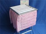 Карманные цедильные мешки сборника пыли пинка воздушного фильтра F7