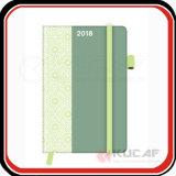 Печатание Cutom плановика дневника тетради книга в твердой обложке A5