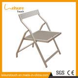 Restaurante plegable de aluminio determinado de Testilene de los muebles del jardín del patio que cena la silla para la venta